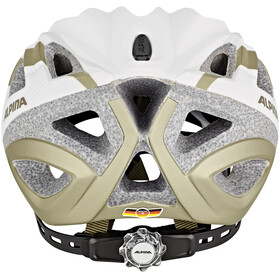 Alpina Seheos L.E. Cykelhjelm hvid/sølv